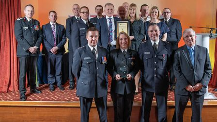 Excellence Award: Alternative Appliance Project Team - Staff at the Cambridgeshire Fire and Rescue S