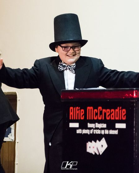 Magician Alfie to host second fundraising show at Ely Beet Club in October. Picture: FAMILY