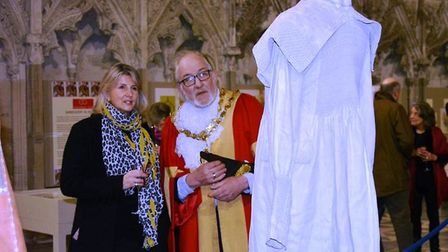 The Beautiful Stitch exhibition at Ely Cathedral. Picture: ELY CATHEDRAL