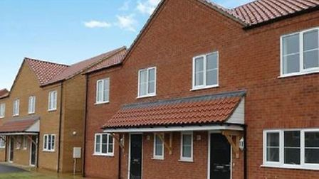The development of 16 affordable houses in Back Road, Littleport, which were built by AJ Lee Develop