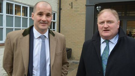 High Streets minister Jake Berry MP came to Ely today to see for himself at first hand the issues f