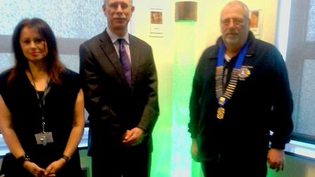 An item on Sir Harry Smith's wish list, a 5ft tall sensory lamp, has been purchased by members of th