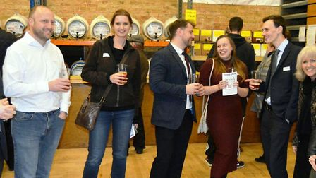 CAMRAs 10th Elysian Winter Beer Festival is now underway at The Maltings in Ely. Picture: MIKE ROUSE