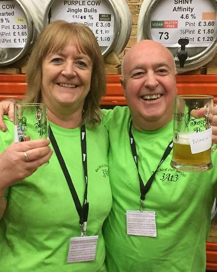 Ely Wine Events at the 10th Elysian Winter Beer Festival which is at The Maltins today (Friday Janua