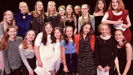 A cabaret evening hosted by Ely Cathedral Girls' Choir has raised £600 for charity. Picture: KING'S