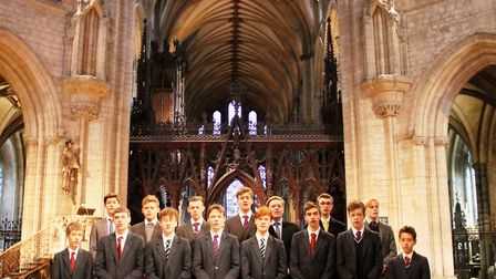 King's Ely's award-winning boys' acappella group – the King's Barbers – are being given a once in a