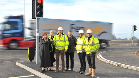 £2.6 million project to install traffic lights at a notorious accident blackspot in March is finally