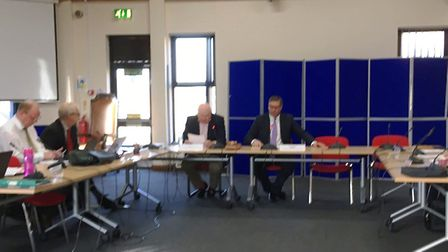 Mayor James Palmer chairs today's meeting of the Cambridgeshire and Peterborough Combined Authority