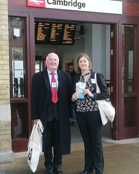 It is full steam ahead for the future of community rail in Fenland after a community partnership has