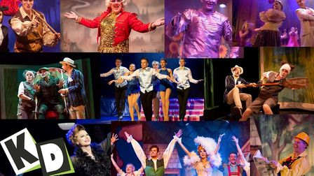 Some of KD Theatre Productions' shows from the last year