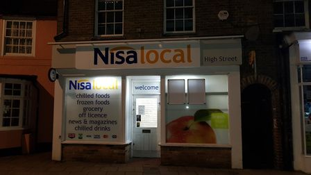 The two Nisa stores in Chatteris are open for business again. Picture: MATTHEW HALMSHAW