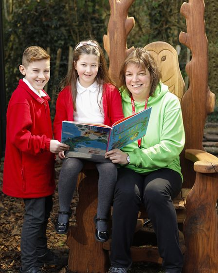 Storytelling fun with Little Thetford Primary