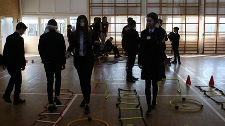Pupils from Witchford got a taste of further education from staff and students from Cambridge Region