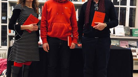 The Day of the Duck had a successful London launch at the RIBA Bookshop in Portland Place last month