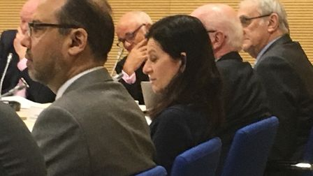 Emotions ran high over staffing levels in the mayor's office during a meeting of the Cambridgeshire