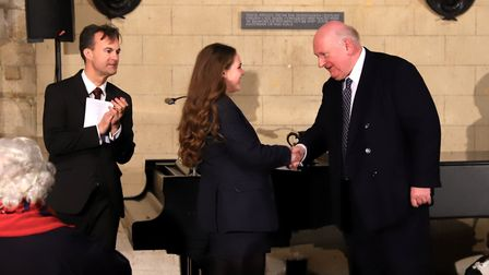 Hundreds packed into Ely Cathedral for King's Senior's annual music festival finalists' concert. Pic