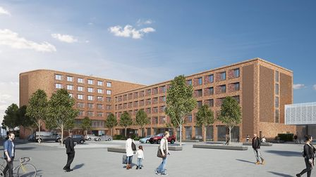 The luxury four-star hotel destined for Cambridge North Station to be built by autumn 2020. Picture: