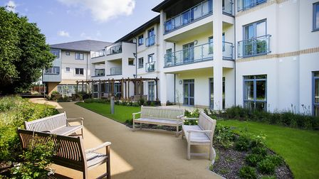 Doddington Court ranked as 'good' by care inspectors in latest CQC report. Picture: ED MAYNARD.