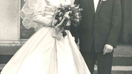 Globetrotting couple from March Margie and Richard Poole celebrate their diamond wedding anniversary