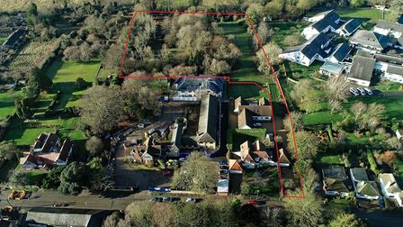 Three prime development sites up for grabs in Cambridgeshire. Land in Meldreth is pictured. Picture: