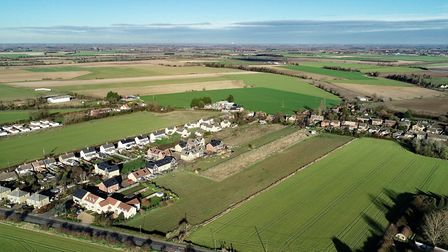Three prime development sites up for grabs in Cambridgeshire. Land in Fordham is pictured. Picture: