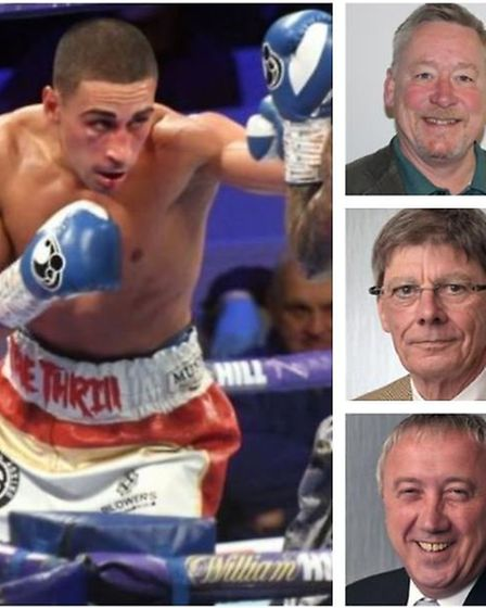 Knock out blow? Boxer Jordan Gill will now get the congratulatory letter from Fenland Council that C