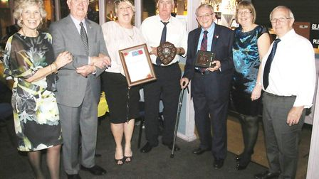 Dancing, dinner and deserving winners in Whittlesey for Royal British Legion. Pictured is Pauline Ed