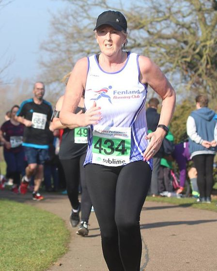 Paula Connolly - Six members of Fenland Running Club took on the Sublime Peterborough Winter 10 Race