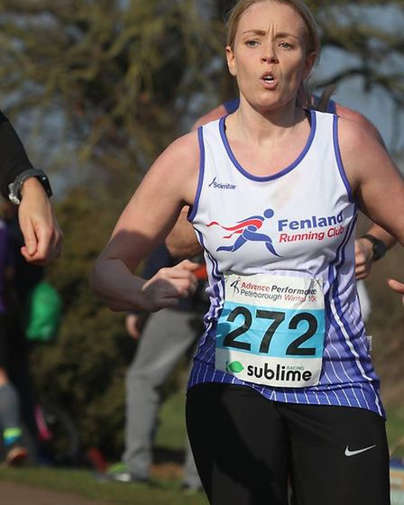 Stacie Youngs - Six members of Fenland Running Club took on the Sublime Peterborough Winter 10 Race.