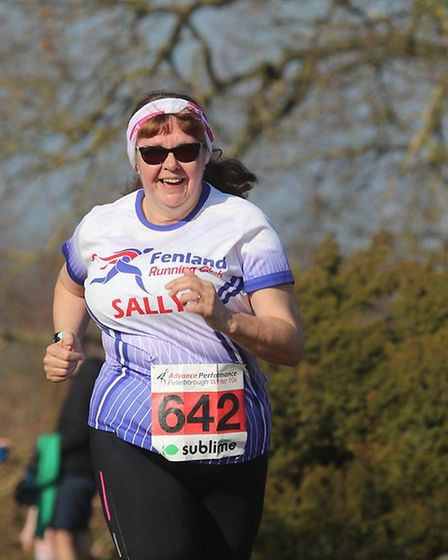Sally King - Six members of Fenland Running Club took on the Sublime Peterborough Winter 10 Race. Pi