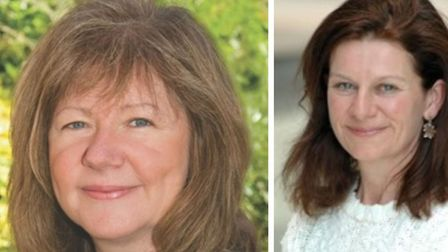 Agreed statements by departing chief executive of South Cambs Beverley Agass (left) and council lead
