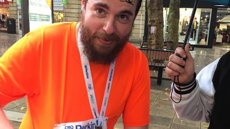Father-of-two Peter Leet from March will be running 10 miles a day for 87 days in aid of charity. Pi