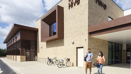The Hive leisure centre in Ely was destined to be a model for other community centres across the reg