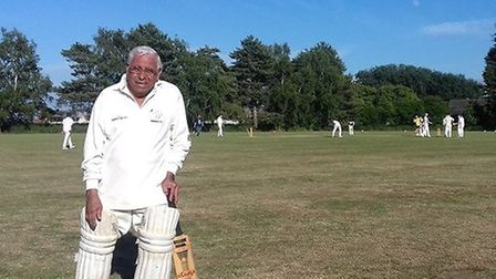 Dedicated cricketer and great-grandfather Percy Bulsara dies at 84. Picture: WELNEY CRICKET CLUB.