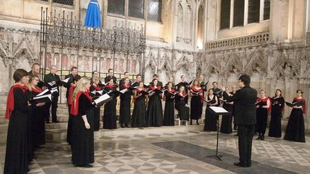 'Sheer beauty of sound' for Cambridge Chorale's 'A Sense of the Divine' in Ely. Picture: ROSEMARY WE