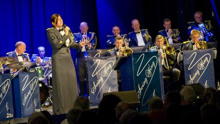 CRN-20171103-0977A Swing Wing Concert was held in the Lincoln Drill Hall on the evening of 3 Novembe