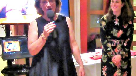 Ely Inner Wheel donate to Maggie's Centres charity. The group's vice-president Susie Sallis gave the