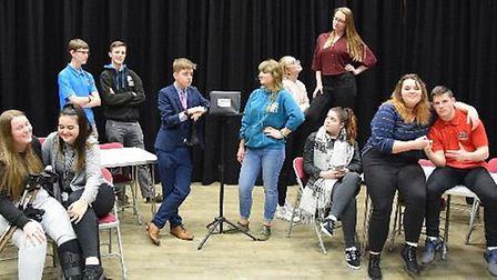 Fenland theatre group 20Twenty Academy will perform Class - a play about politics, populism and the