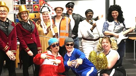 A Lip Sync Battle at Neale-Wade Academy in March raised £547 towards the sixth form end of term dinn
