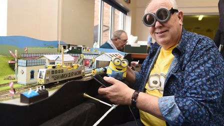 From minions to masterpieces at March model railway exhibition. Dozens gathered to take part on Marc