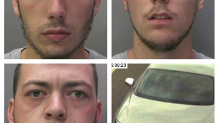 Jacob Smith, Miles Cash and Michael Dear Jacob Smith have been jailed for targeting high-performance