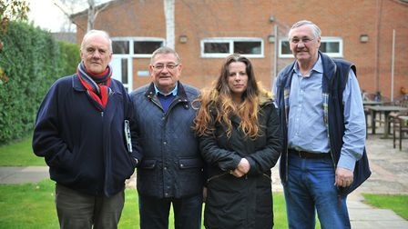 The Fenland 'gang of four'; Councillors who have all quit the Conservative whip on Fenland Council t