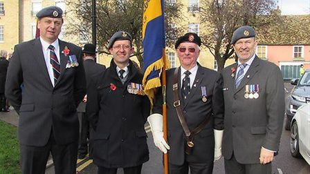Members of the City of Ely branch of the Royal British Legion. Picture: SUBMITTED.