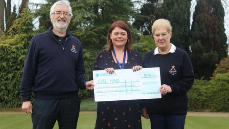 Thousands of pounds raised for charity by Ely City Golf Club. Picture: ELY CITY GOLF CLUB