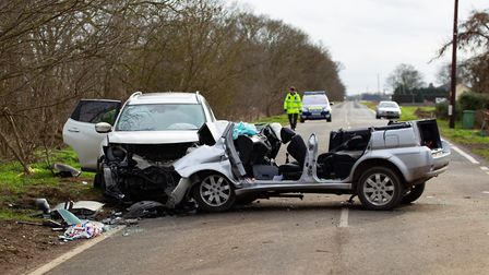 RTC B1040,B1040, PeterboroughMonday 18 February 2019. Picture by Terry Harris.