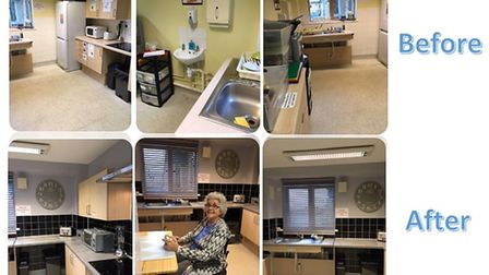 New kitchen at Fen House helps to transform patients' lives. Picture: FEN HOUSE