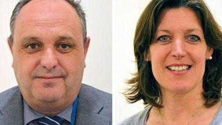 Two senior councillors who left Ely last year but stayed on as councillors: Andy Pearson moved to Sp