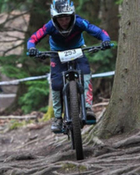 Mountain bike racing for Ely & District Cycling Club riders. Picture: DAN BROMILOW