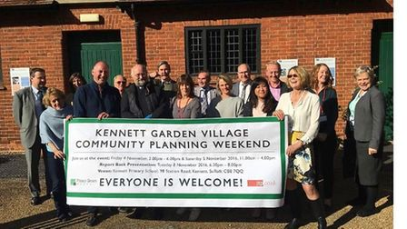 East Cambs Council is claiming massive support for its 500 homes plan for Kennett and using photos l