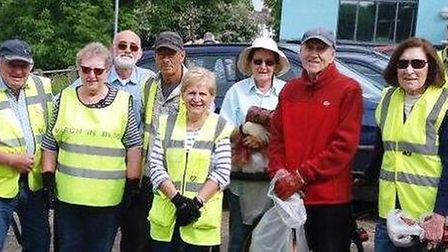 March Street Pride won £4,000 from Tesco's community grant scheme, Bags of Help, to create a new flo